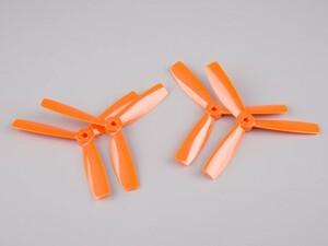 AquaPC★5x4.5 3 Blades Bullnose Propeller(2pairs) Orange★