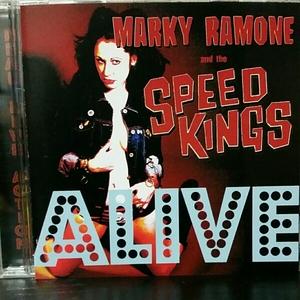 MARKY RAMONE and The Speed Kings 500枚限定ライヴCDラモーンズ