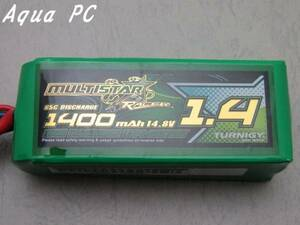 AquaPC★ミニマルチコプターに最適1400mAh 4S 65C (Gold Spec)★