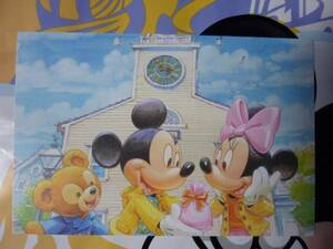 即決♪新品♪東京ディズニーシースウィートダッフィー 2010 シェリーメイ ポストカード バレンタインデー ホワイトデー♪TDR TDL TDS♪