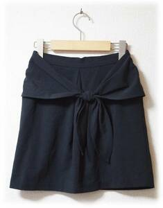 LOWRYS FARM ローリーズファーム リボンスカート ベーシック シンプルデザイン 大人 おしゃれ 黒系 美品 キレイめ パーティー 2次会 激安