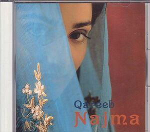 ナジマ NAJMA CD/カリブ Qareeb 1988年 1作目 日本盤 80年代 インド系 廃盤