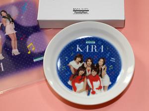 ファミリーマートノベル/2011年「KARA(カラ)」ティプレート/ビニールバッグセット/フルメンバー/韓国