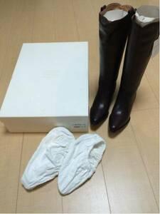 メゾン マルタン マルジェラ インヒール ブーツ 35 サイズ 22.5㎝ 新品 マルジェラ期 ヴィンテージ デッドストック maison martin margiela
