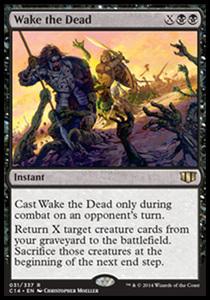 え黒 死者起こし 1枚(1枚在庫x 英 良品 C14)/Wake the Dead(MTG /統率者2014/統率者(2014年版)/Commander 2014/)
