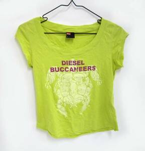 SALE DIESEL ディーゼル ロゴ Tシャツ サイズS 緑