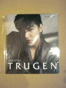 イ・ミンホ 2009年秋 TRUGEN カタログ (小)