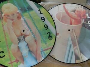 W)ピクチャー盤/Madonna(マドンナ)/2枚セット/エロジャケ,金髪