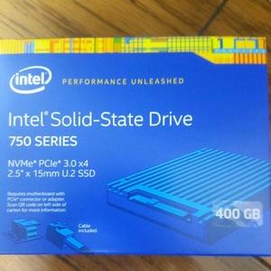 【新品未開封】 Intel 750 SSD 400GB インテル