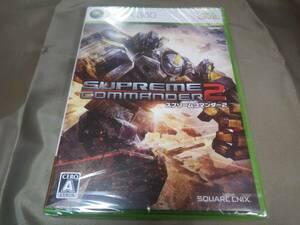 新品 Xbox360 スプリームコマンダー2