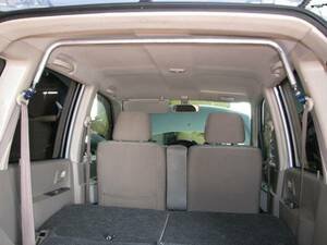 ek Wagon (H81,82W series ) rear pillar bar ( ceiling .... square type )( new goods boxed, including tax )