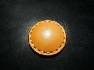 original leather items [saddle / Concho / Natural / 1 piece]