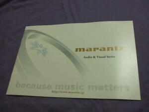 3919 каталог Marantz Marantz2010.10 выпуск 22P