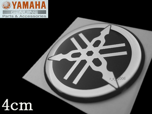[ Yamaha  подлинный ]  звук  вилка  Mark  эмблема    4cm черный    /F.A.S.T.26 EX. Бей  спорт 16.