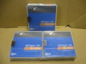 ▽DELL DLT tape VS1 80GB/160GB JP-0P5639 3本セット 新品