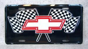 シボレー Chevrolet ライセンス プレート 米国輸入 郵送 [即落札]