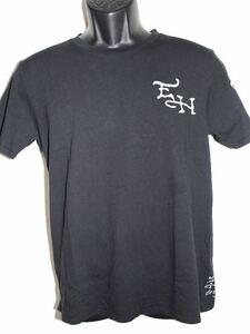 エドハーディー ED HARDY メンズ半袖Tシャツ Lサイズ ST052 ブラック 新品