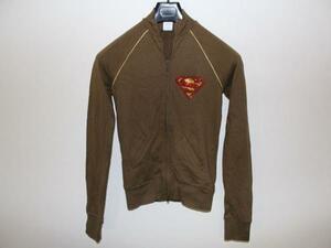 サディスティックアクション SADISTIC ACTION スーパーマン レディーストラックジャケット グリーンxゴールド 新品