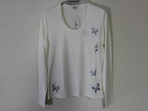 パシフィックコースト Pacific Coast レディース長袖Tシャツ ホワイト Mサイズ 新品