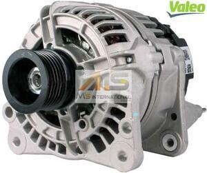 【M's】VW ゴルフ5(1K)/ゴルフ4/ボーラ(1J) VALEO製 オルタネーター14V(110A)//純正OEM ダイナモ ヴァレオ バレオ 036-903-018BX 439511