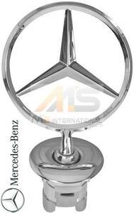 【M's】W204 ベンツ AMG Cクラス(2007y-2013y)純正品 フロントスターマスコット//正規品 C180 C200 C230 C250 C280 C300 C350 C63