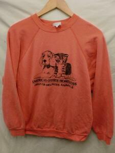 【210415】【メンズ】AMERICA'S OTHER HOMELESSラグランスウェットシャツM