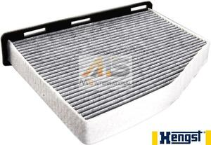 【M's】AUDI アウディ A3(8P) Q3(8U)HENGST製・他 エアコンフィルター/社外品 ACフィルター キャビンフィルター 1K0-819-644B 1K0819644B