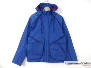 Z177■FOLK■新品 REVERSIBLE TECHNICAL JACKET リバーシブル ジャケット 3 BLUE■