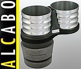 【M's】W218 X218 CLSクラス(2011y-)ALCABO 高級 ドリンクホルダー(シルバー)//ベンツ AMG シューティングブレイク AL-B112S ALB112S