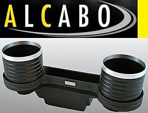 【M's】W204 Cクラス(2007y-2013y)ALCABO 高級 ドリンクホルダー(BK+リング)//ベンツ AMG アルカボ カップホルダーAL-M311BS ALM311BS