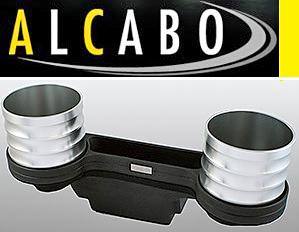 【M's】W204 Cクラス(2007y-2013y)ALCABO 高級 ドリンクホルダー(シルバー)//ベンツ AMG アルカボ カップホルダーAL-M311S ALM311S