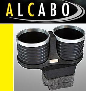 【M's】ベントレー コンチネンタルGT/フライングスパー(2003y-2010y)ALCABO 高級 ドリンクホルダー(BK+リング)/GTC GTスピード AL-B201BS