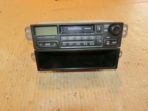 ムーヴ L900S 1DINオーディオ カセット AM FM ラジオ 86120 純正