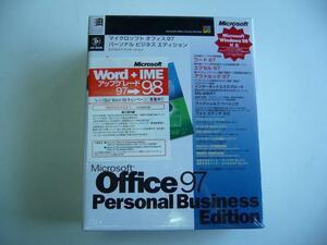 *Microsoft Office 97 Personal Business Edition* нераспечатанный *#02