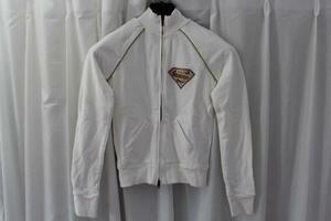 サディスティックアクション SADISTIC ACTION レディーススーパーマントラックジャケット ホワイトxゴールド 新品
