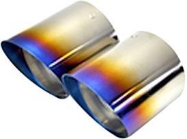 【M's】ミニ R55 R56 R57 R58 R59 Kaizer Tail マフラーカッター