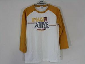 パシフィックコースト PACIFIC COAST レディース7分Tシャツ Lサイズ 新品