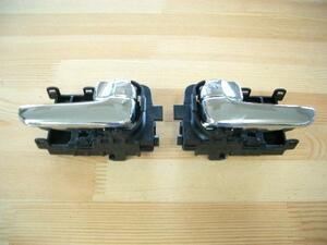 日産 特別仕様車 純正 ER34 スカイライン メッキ インナー ドア ハンドル 新品 S15シルビア BNR34 GT-R にも