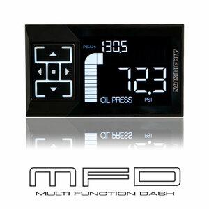 【2.4インチ液晶】ARK-DESIGN MFD 多機能メーター ブースト計 バキューム計 水温計 スピード タコメーター モニター 日本製 独立動作