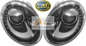 【M's】VW ザ・ビートル 5C/16C(2012y-)HELLA製 キセノン ヘッドライト 左右//純正OEM 日本仕様 左側通行用 5C2-941-031B 5C2-941-032B