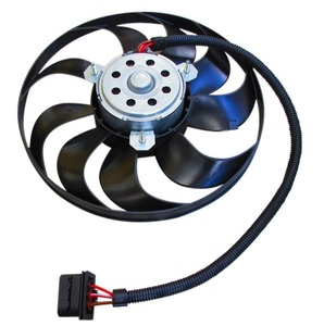 VW NEWビートル ニュービートル ボーラ ゴルフ4 ポロ ラジエター電動ファン ラジエーター電動ファン ブロアーファン 1C0-959-455C(290mm)