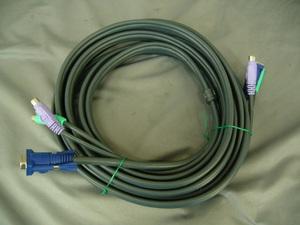 *PS/2 KVM кабель длина 4.9m* б/у *#02