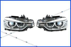 BMW 3シリーズ F30 F31 バイキセノンヘッドライト 左右セット ZKW製 HELLA製 純正OEM バイキセノンヘッドランプ 左側通行用 日本仕様