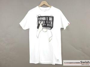 "Z177■BEDWIN ベドウィン × THIS SOFT MACHINE■新品 S/S PRINT ""SULLIVAN""  Tシャツ 2 WHITE■"