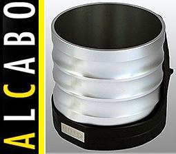 【M's】W211 ベンツ AMG Eクラス(2002y-2010y)ALCABO 高級 ドリンクホルダー(シルバー)//アルカボ カップホルダー AL-M303S ALM303S