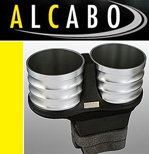 【M's】ベントレー コンチネンタルGT/フライングスパー(2003y-2010y)ALCABO 高級 ドリンクホルダー(シルバー)//GTC GTスピード AL-B201S