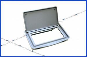 ベンツ Eクラス W210 S210 バニティーミラーフレーム/純正品 正規品 新品 オリオングレー 210-810-2510-7D84