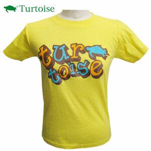 DM便 訳あり Turtoise タータス 半袖Tシャツ JET 女 Yellow/Mサイズ