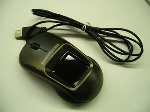 * Fujitsu ладонь тихий . засвидетельствование PalmSecure-SL мышь модель FAT13SLM01 титановый серый * б/у *#05