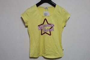 パシフィックコースト PACIFIC COAST レディース半袖Tシャツ イエロー Mサイズ アウトレット